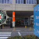 Police intervened at Craigavon Hospital